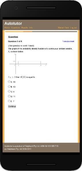 Mobile screenshot 1 maths practice